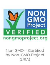 Non GMO - Certified by Non-GMO Project (USA)